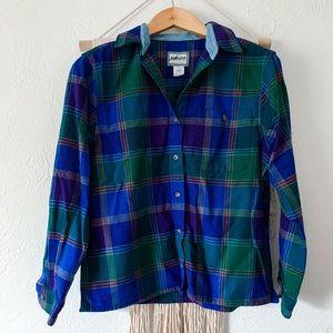 Pendleton Wool Flannel Button Down